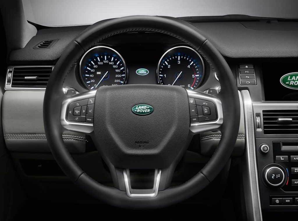 Land Rover Discovery interieur