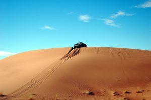 une excursion en 4x4 dans le désert marocain